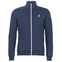 material Men Jackets Le Coq Sportif ESS FZ SWEAT N°2 M Blue / Marine