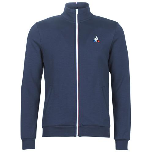 material Men Jackets Le Coq Sportif ESS FZ SWEAT N°2 M Blue / Marine