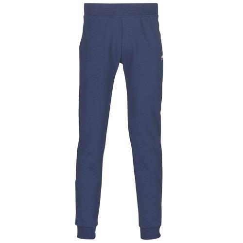 material Men Tracksuit bottoms Le Coq Sportif ESS PANT SLIM N°1 M Blue / Marine
