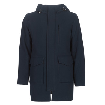 material Men coats Selected SLHWOOL Marine