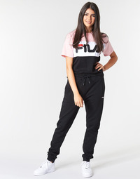 material Women Tracksuit bottoms Fila EDAN sweat pants Black