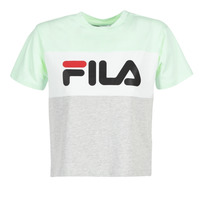 material Women short-sleeved t-shirts Fila ALLISON TEE Blue / Grey