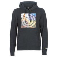 material Men sweaters Element QUADRANT SEASONS HOOD Grey