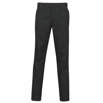 material Men 5-pocket trousers Dickies SLIM FIT WORK PNT Black