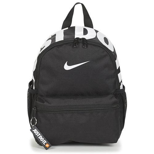 Bags Children Rucksacks Nike Y NK BRSLA JDI MINI BKPK Black