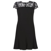 material Women Short Dresses Lauren Ralph Lauren CALLY Black