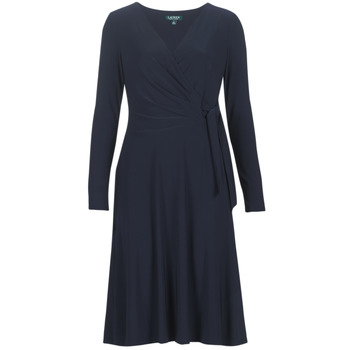 material Women Long Dresses Lauren Ralph Lauren COREEN Marine