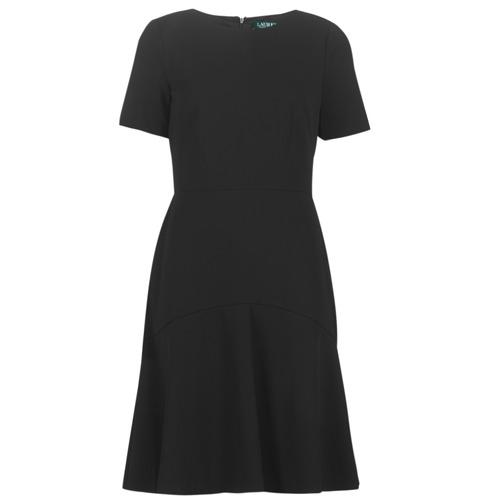 material Women Short Dresses Lauren Ralph Lauren BABA Black