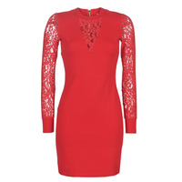 material Women Short Dresses Moony Mood LICE Red