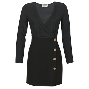 material Women Short Dresses Moony Mood LUCE Black