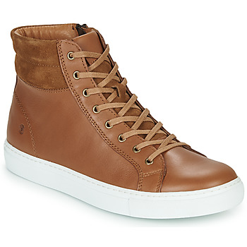 Shoes Men High top trainers Casual Attitude LUCKY Camel