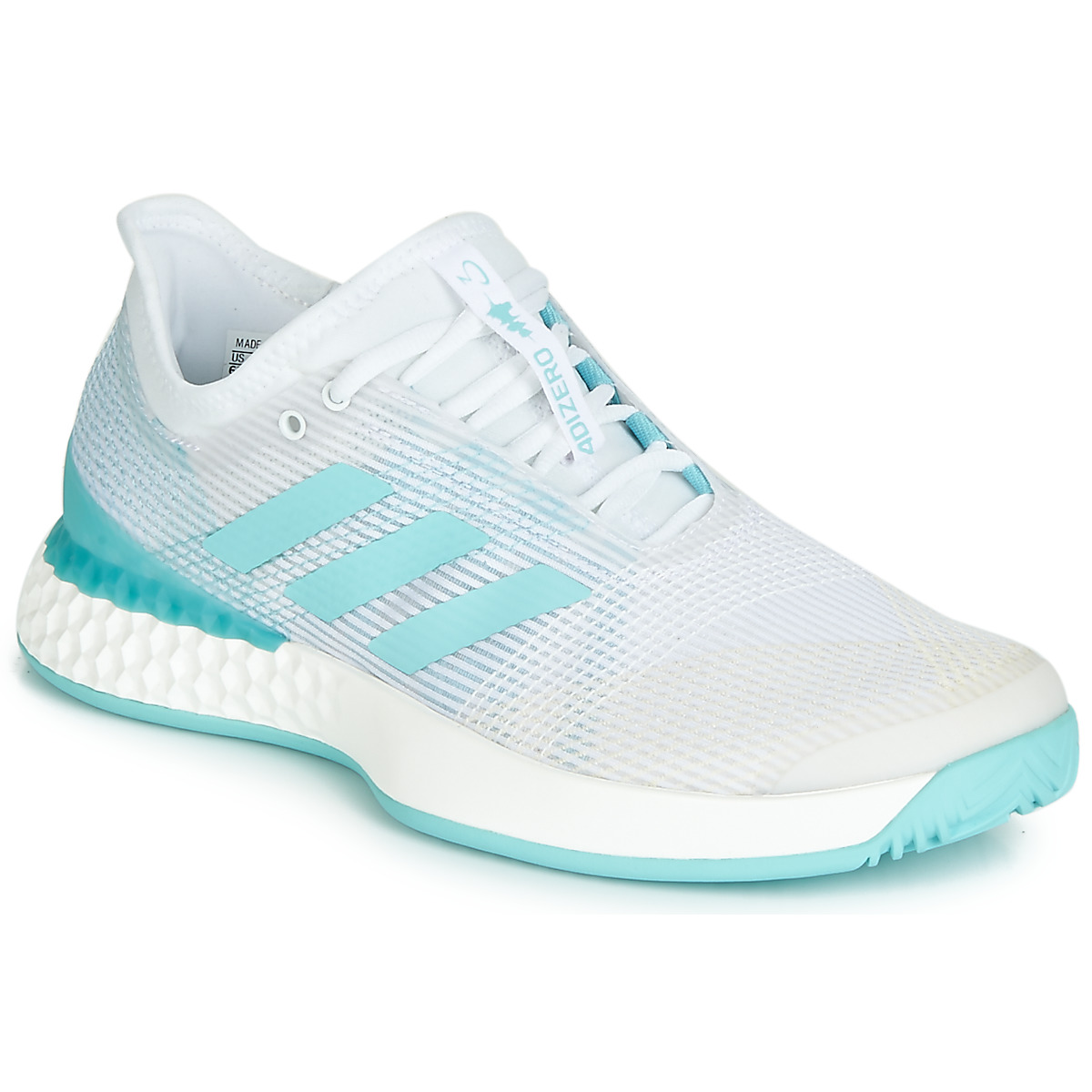 equipaje Perversión Muñeco de peluche  adidas Performance ADIZERO UBERSONIC 3M X PARLEY White / Blue - Fast  delivery | Spartoo Europe ! - Shoes Running-shoes Women 111,96 €