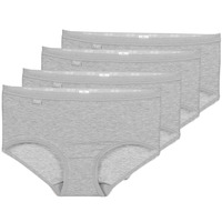 Underwear Women Knickers/panties Sloggi  BASIC+ X 4 Grey