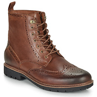 Shoes Men Mid boots Clarks BATCOMBE LORD Camel