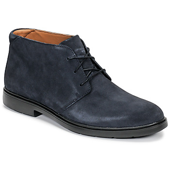 Shoes Men Mid boots Clarks UN TAILOR MID Marine