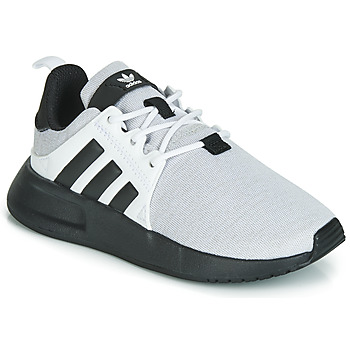 Shoes Children Low top trainers adidas Originals X_PLR C Grey / Black