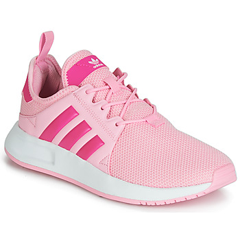 Shoes Children Low top trainers adidas Originals X_PLR J Pink