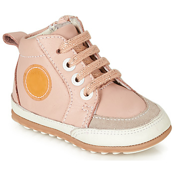 Shoes Girl High top trainers Robeez MIGO Pink