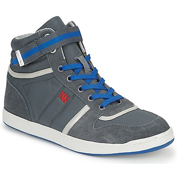 Shoes Women High top trainers Dorotennis BASKET NYLON ATTACHE Grey
