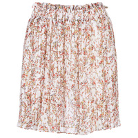 material Women Skirts Betty London KATAVELLE White / Red