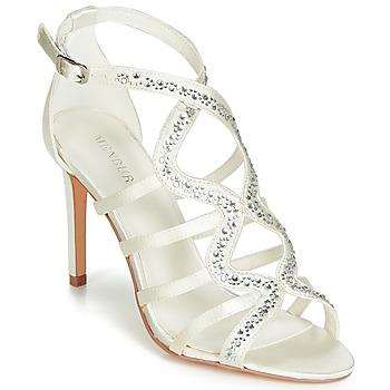 Shoes Women Sandals Menbur MAFAT Ivory