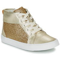 Shoes Girl High top trainers Clarks CITY OASISHI K Gold