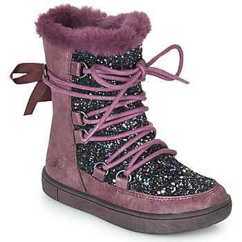 Shoes Girl Snow boots Mod'8 BLABY Bordeaux