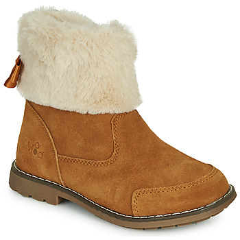 Shoes Girl Mid boots Mod'8 STELIE Cognac