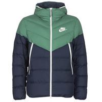 material Men Duffel coats Nike M NSW DWN FILL WR JKT HD Marine / Green