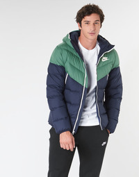 material Men Duffel coats Nike M NSW DWN FILL WR JKT HD Marine / Green
