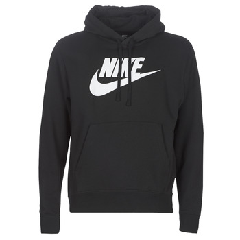 material Men sweaters Nike M NSW CLUB HOODIE PO BB GX Black