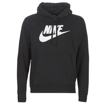 material Men sweaters Nike M NSW CLUB HOODIE PO BB GX Black