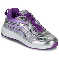 Shoes Girl Wheeled shoes Heelys NITRO Silver / Violet