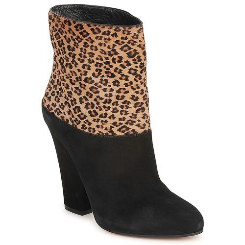 Shoes Women Ankle boots Sebastian CAVALLINO Black
