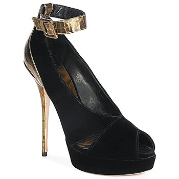 Court-shoes Sebastian VELLURE Black / GOLD 350x350