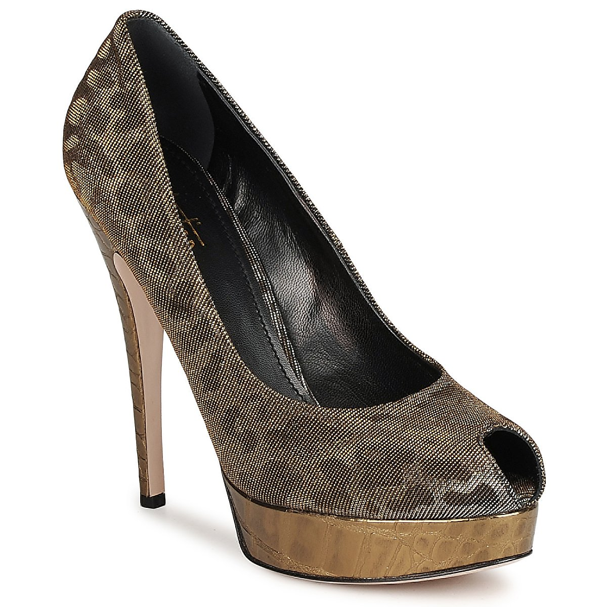 Court-shoes Sebastian TESS Grey / GOLD