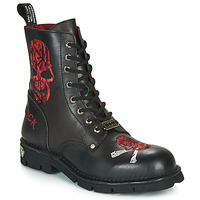 Shoes Men Mid boots New Rock  Black