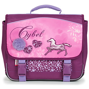 Bags Girl Satchels Rentrée des classes CYBEL CARTABLE 38 CM Pink