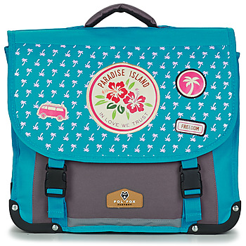 Bags Girl Satchels Rentrée des classes POL FOX PARADISE ISLAND CARTABLE 38 CM Blue / Grey