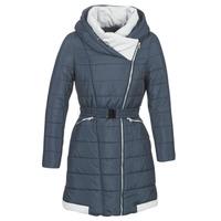 material Women Duffel coats Casual Attitude LOLAPO Blue / Marine