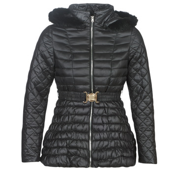 material Women Duffel coats Moony Mood LESLIE Black