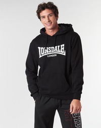 material Men sweaters Lonsdale WOLTERTON Black