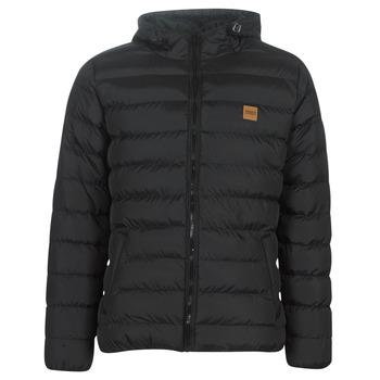 material Men Duffel coats Urban Classics BASIC BUBBLE JACKET Black