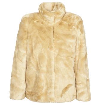 material Women coats Vero Moda VMMINK Beige