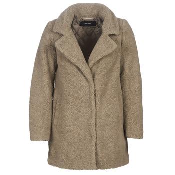 material Women coats Vero Moda VMZAPPA Beige