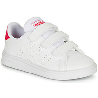 Shoes Girl Low top trainers adidas Originals ADVANTAGE C White