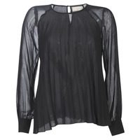 material Women Blouses Moony Mood LAURA Black