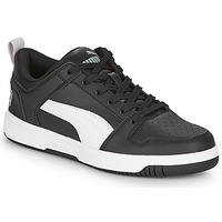Shoes Boy Low top trainers Puma REBOUND LAYUP N Black