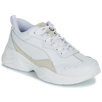 Shoes Women Low top trainers Puma CILIA LUX White