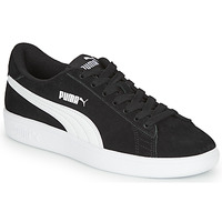 Shoes Boy Low top trainers Puma SMASH V2 SD JR Black